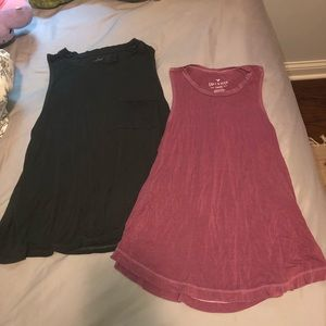 Tops - 2 FOR 1 AMERICAN EAGLE/AERIE TANKS